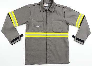 Lavagem de uniformes contaminados